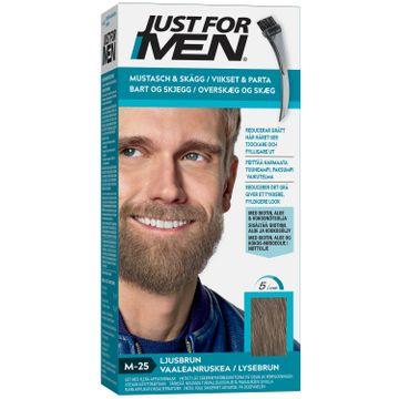 Just For Men Mustasch & Skägg Ljusbrun. 1st