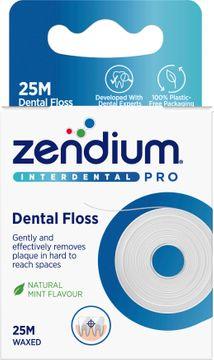 Zendium Interdental Floss Tandtråd 25 m. 1 st