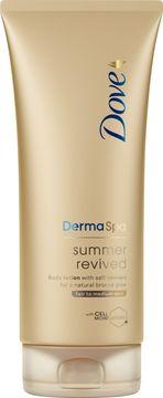 Dove DermaSpa Summer Revived Fair Brun-utan-sol. 200 ml