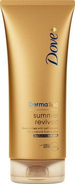 Dove DermaSpa Summer Revived Dark Brun-utan-sol. 200 ml