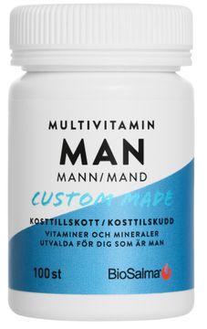 Biosalma Multivitamin Man 100 tabletter