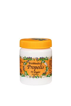Biomedica Propolis 50 tabletter