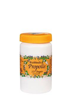 Biomedica Propolis 125 tabletter