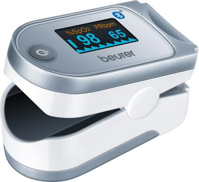 Beurer PO 60 Pulsoximeter Saturationsmätare Pulsoximeter, 1 st