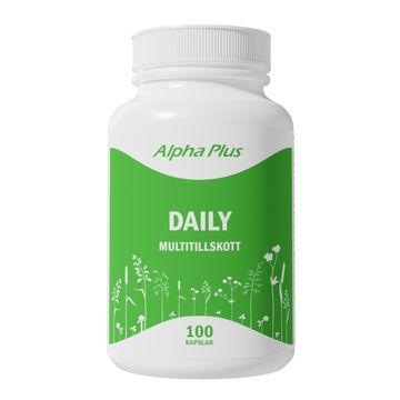 Alpha Plus Daily 100 kapslar