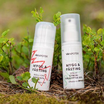 Kronans Apotek Mygg & Fästing DEET 30% Mygg- och fästingsmedel, 50 ml