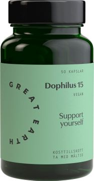 Great Earth Dophilus 15 Kapslar, 50 st