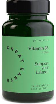 Great Earth Vitamin B6 60 tabletter