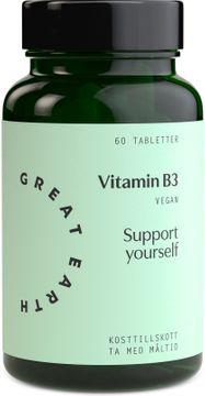 Great Earth Vitamin B3 - Niacin 60 tabletter