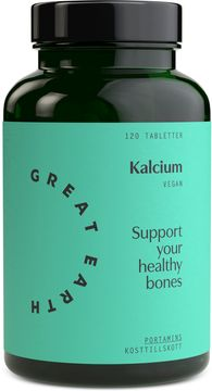 Great Earth Kalcium 120 tabletter