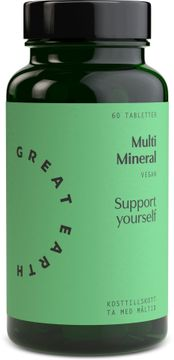 Great Earth Multi Mineral 60 tabletter