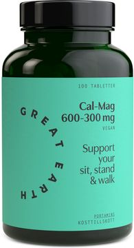 Great Earth Super Cal/Mag 600-300 mg 100 tabletter