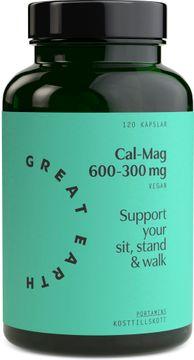 Great Earth Cal/Mag 600-300 mg 120 kapslar