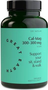 Great Earth Cal/Mag 300-300 mg 120 kapslar