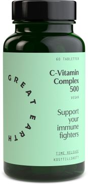 Great Earth C-Vitamin Complex 500 mg 60 tabletter