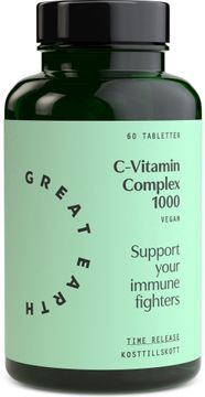 Great Earth C-Vitamin Complex 1000 mg 60 tabletter