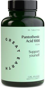 Great Earth Pantothenic Acid 90 tabletter