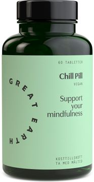 Great Earth Chill Pill 60 tabletter
