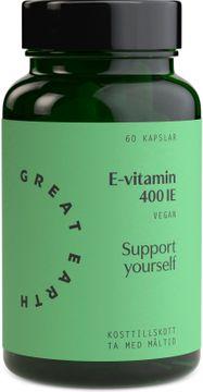 Great Earth E-Vitamin 60 kapslar