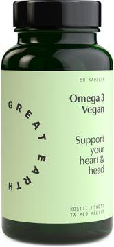 Great Earth Omega 3 Vegan 60 kapslar