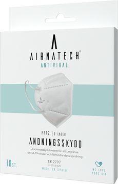 Airnatech Andningsskydd FFP2 Munskydd för engångsbruk, 10 st