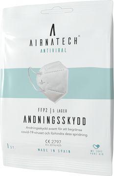 Airnatech Andningsskydd FFP2 Munskydd för engångsbruk. 1 st