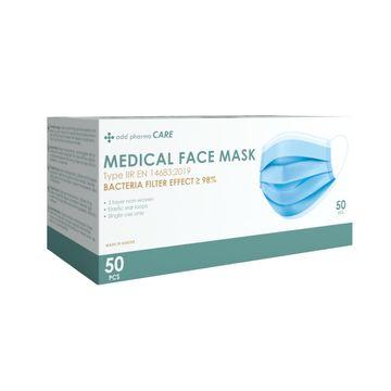 Add Pharma Care Munskydd Typ IIR Munskydd för engångsbruk, 50 st
