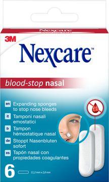 Nexcare Blood-Stop Nasal Näsblodstoppare, 6 st