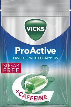 Vicks ProActive Halstablett, 72 g