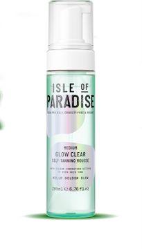Isle of Paradise Medium Clear Self Tan Mousse Brun utan sol, 200 ml