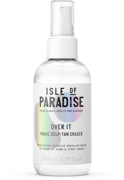 Isle of Paradise Over It Remover Tan Eraser Brun utan sol, 200 ml