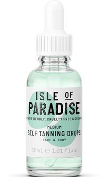 Isle of Paradise Medium Self Tanning Drops Brun utan sol, 30 ml