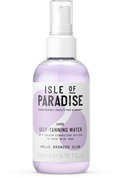 Isle of Paradise Dark Self Tanning Water Brun utan sol, 200 ml