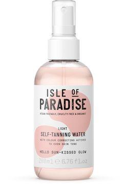 Isle of Paradise Light Self Tanning Water Brun utan sol, 200 ml