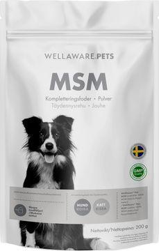 WellAware Pets MSM Kompletteringsfoder, 200 g