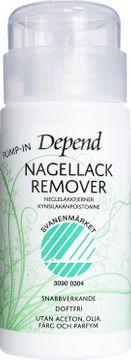 Depend Remover Pump-In Miljöanpassad Nagellacksborttagning, 125 ml