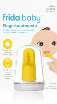Fridababy Fingertandborste Barntandborste, 1 st