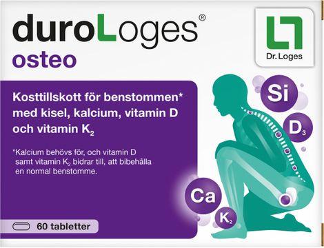 Durologes Osteo Tablett, 60 st