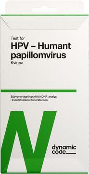 Dynamic Code HPV Test med självprovtagning, 1 st