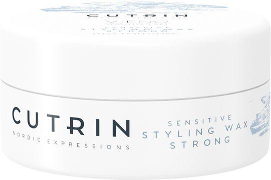 Cutrin VIENO Sensitive Styling Wax Strong Hårvax, 100 ml