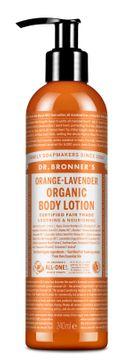 Dr. Bronner's Body Lotion Orange & Lavender Hudkräm, 240 ml