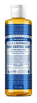 Dr. Bronner's Liquid Soap Peppermint Duschtvål, 240 ml