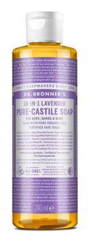 Dr. Bronner's Liquid Soap Lavender Duschtvål, 240 ml