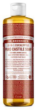 Dr. Bronner's Liquid Soap Eucalyptus Duschtvål, 475 ml