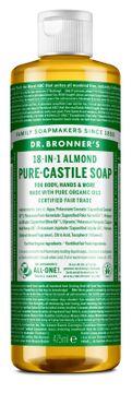 Dr. Bronner's Liquid Soap Almond Duschtvål, 475 ml
