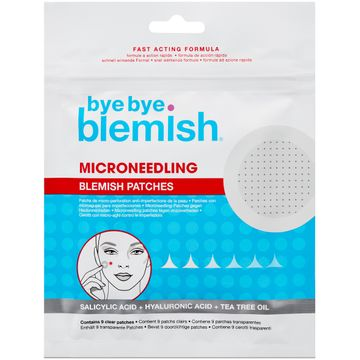 Bye Bye Blemish Microneedling Blemish Patches Punktbehandling mot finnar, 9 st