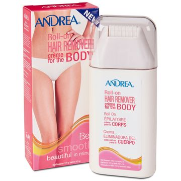 Andrea Roll-On Hair Remover Creme Body Hårborttagningskräm, 119 g
