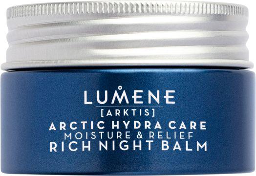 Lumene Arctic Hydra Care Rich Night Balm Nattkräm, 50 ml