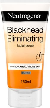 Neutrogena Blackhead Eliminating Facial Scrub Ansiktsskrubb, 150 ml