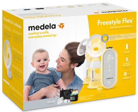 Medela Freestyle Flex Elektrisk dubbelbröstpump 1 st
